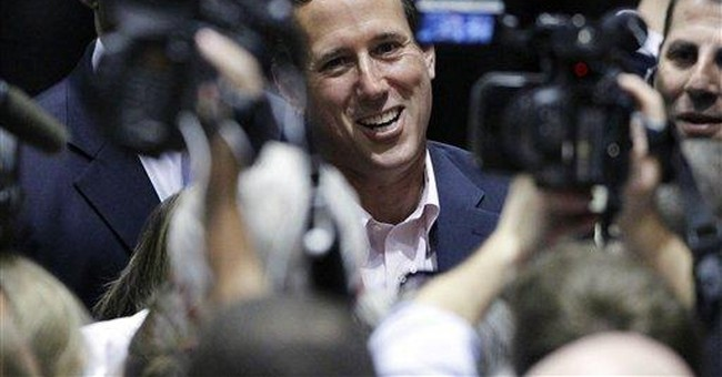 Santorum: Obama to blame for higher energy costs