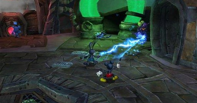 Disney sketches sequel to 'Epic Mickey' video game