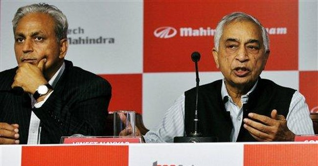 Indian outsourcer Tech Mahindra to swallow Satyam