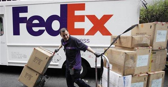 FedEx says economy isn't as robust as it hoped