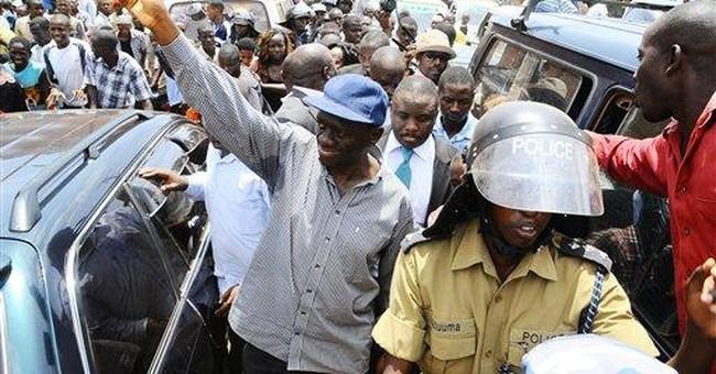 Uganda police restrict opposition leader movements