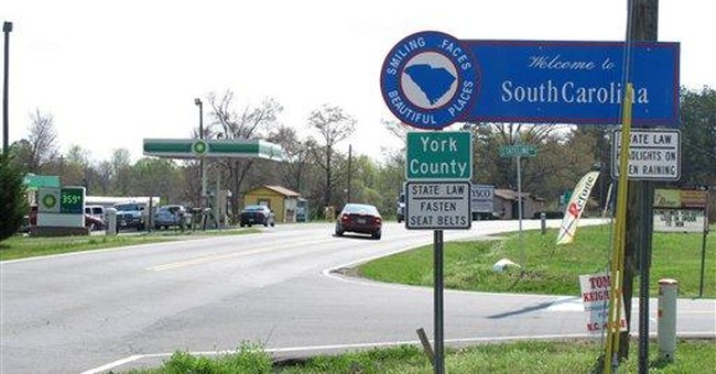 NC, SC state line isn't where folks thought it was