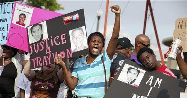 Rally sentiment: Justice in Fla. teen's killing