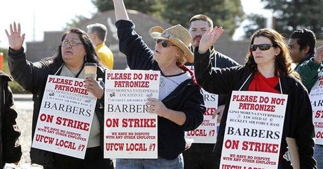 Hair strike: Barbers at Colo. air base on strike