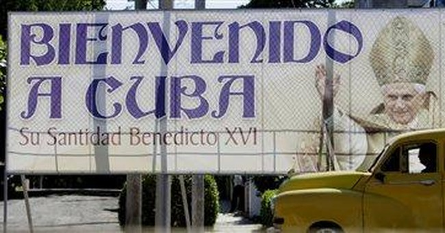 Vatican: Pope's Cuba trip should help democracy
