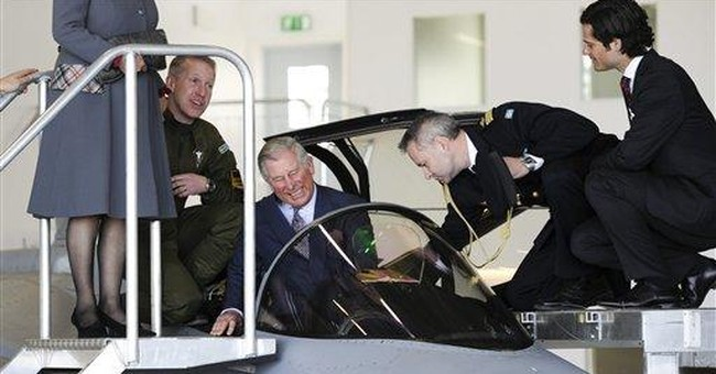 Prince Charles makes 1st official visit to Sweden