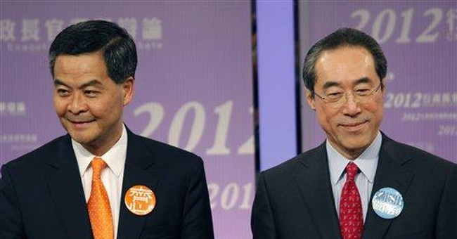 Signs hint Beijing may be shifting on HK leader