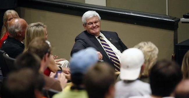 "Gingrich says Fla. shooter found ""dangerous"" hobby"