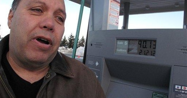 Stuck with high gas prices, drivers just pump less