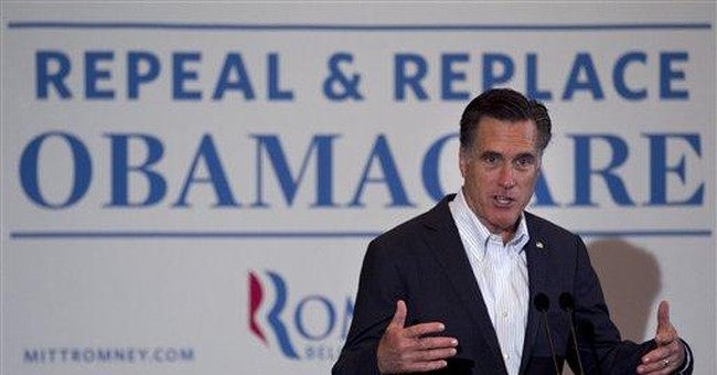 Romney: Obama's health law an 'unfolding disaster'