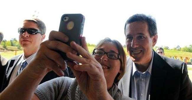 Santorum's rural edge keeps him in GOP contest