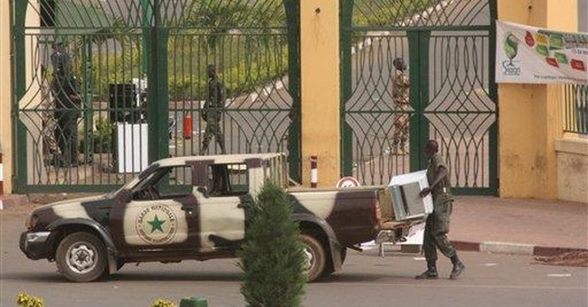 Mali state TV goes off air; fear of countercoup