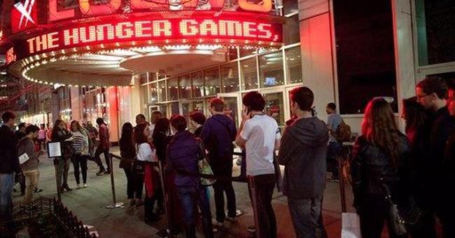 Lions Gate shares up on 'Hunger Games' huge debut