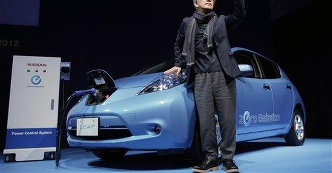 Electric cars risk losing green sheen in Japan