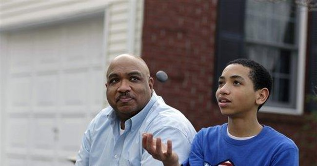 Trayvon Martin, my son, and the Black Male Code