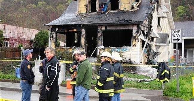 8 killed, including 6 kids, in W.Va. house fire