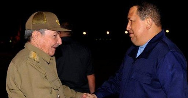 Hugo Chavez begins radiation therapy in Cuba