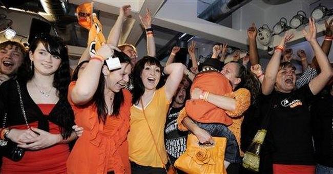 Merkel party wins year's 1st German state vote
