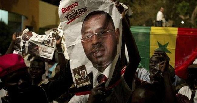 World leaders praise Senegal runoff election
