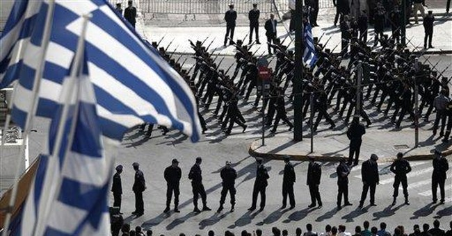 Massive security for Greek Independence Day parade