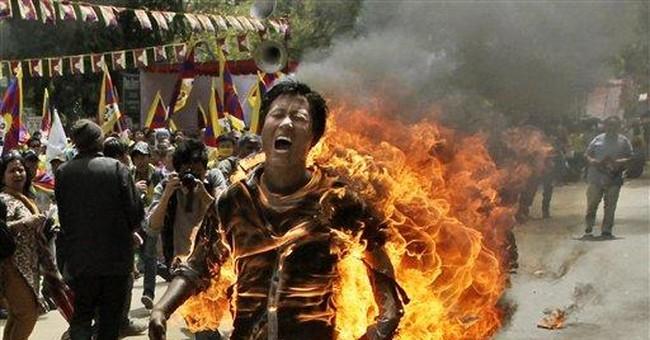 China: Dalai Lama behind self-immolation protests