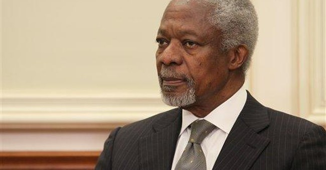 Annan: Syrian crisis can't be allowed to drag on