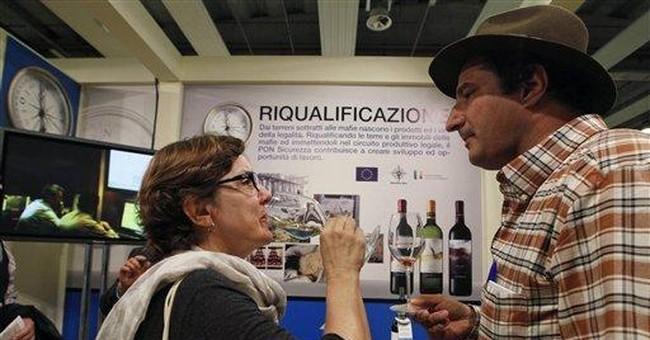 Ex-Mafia land produces prize-winning Italian wines