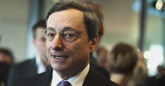 ECB chief: Emergency loans not fueling inflation