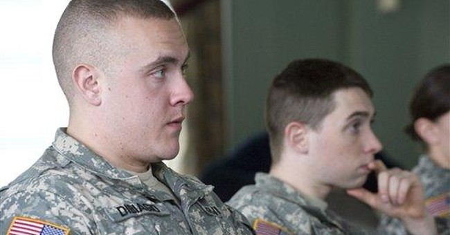 Military academies hold first gay pride events