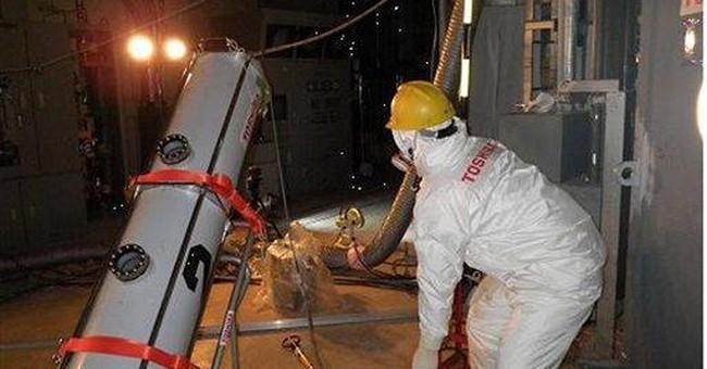 Japan reactor has fatally high radiation, no water