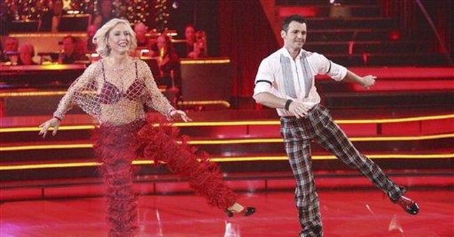 First star bounced from new season of `Dancing'