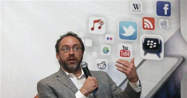 Wikipedia founder: Public needs online references