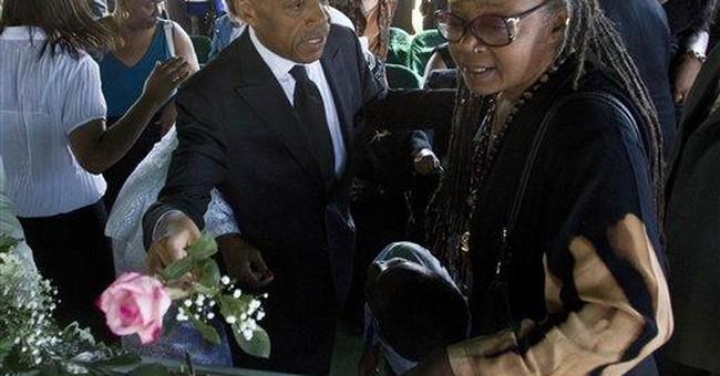 Hundreds mourn the Rev. Al Sharpton's mother