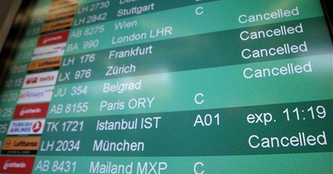 Flights canceled as German public workers strike
