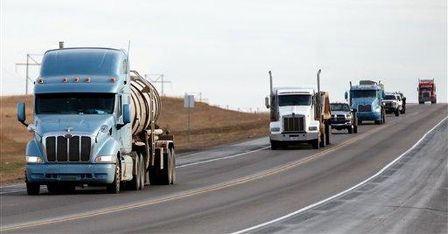 Cyclists warned to steer clear of ND's oil patch