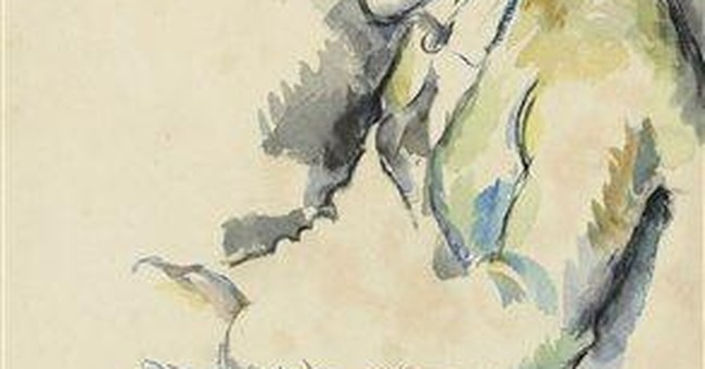 Rare Cezanne watercolor study coming to NY auction