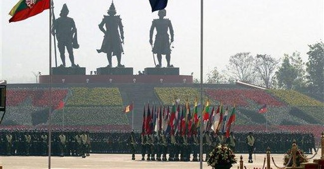 Myanmar general defends military's political role
