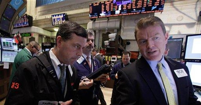 Materials lead US stocks lower as commodities dip