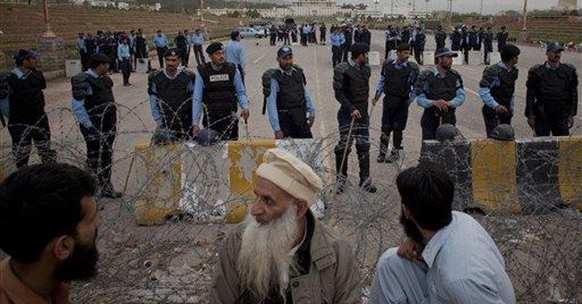 US missiles kill 4 in Pakistan amid drone debate
