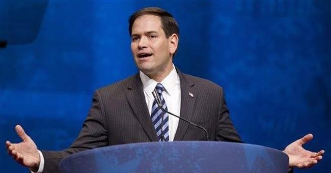 Rubio endorses Romney, says GOP primary should end