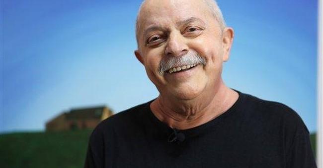Ex-Brazil leader Silva's tumor is gone