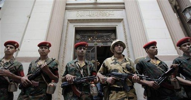 Egypt's military generals defend their business