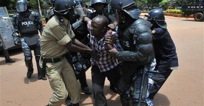 Uganda protest leader in court after police death