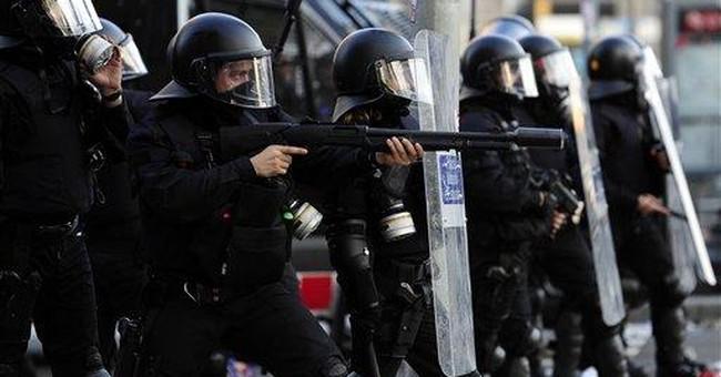 Spain engulfed by nationwide anti-austerity strike