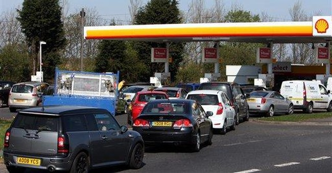 Some UK gas stations shut after fuel panic-buying