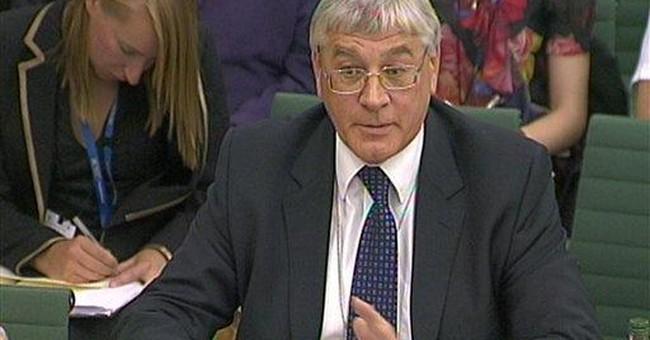 UK hacking scandal claims 3rd senior police figure