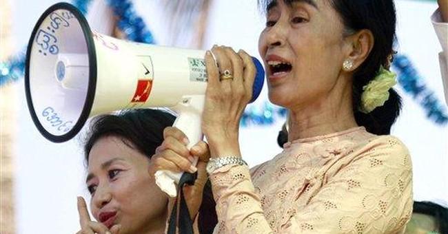 Myanmar shines spotlight on historic election