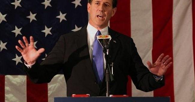 Santorum: US weak on Iran, Israel during Obama era