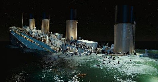 Unsinkable James Cameron refloats 'Titanic' in 3-D