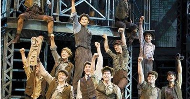 Review: Musical 'Newsies' is relentlessly cheery